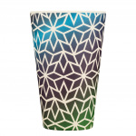 Ecoffee Cup Ecoffee Cup beker Stargate bamboe/siliconen 400 ml blauw
