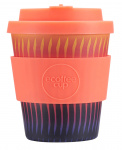 Ecoffee Cup koffiebeker Buck Fiddy 250 ml bamboe oranje