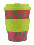 Ecoffee Cup koffiebeker Horsome Orse 350 ml bamboe groen