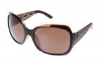 Level One Sonnenbrille Damen braun mit brauner Linse A60445