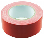 TOM ducttape 50 mm x 25 m 70 mesh/polyetheen rood